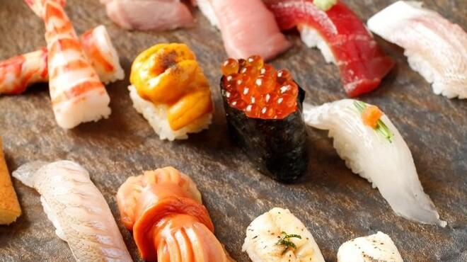 龍月  SUSHI - 料理写真:握りコース 蘭