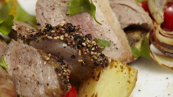 Restaurant Osami - 料理写真:北海道産さんろく笹豚ロースのグリル