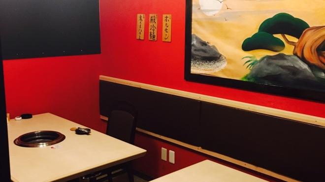 焼肉 殿 - 内観写真:完全個室のお部屋は仲間でワイワイ騒ぐのも楽しいですね!