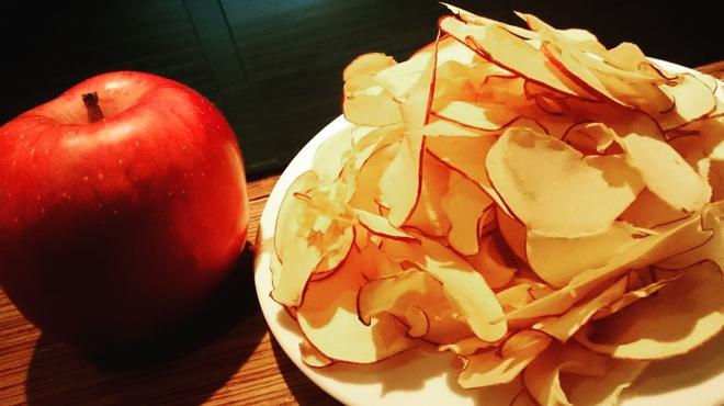 バーレオン - 料理写真:自家製リンゴのドライフルーツ