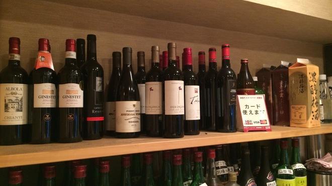 焼肉 門庭 - ドリンク写真:ワインも種類豊富