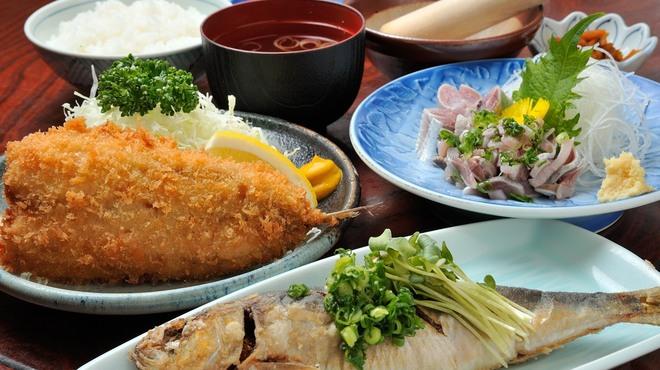 あづみ野 勝味庵 - 料理写真:いわし定食