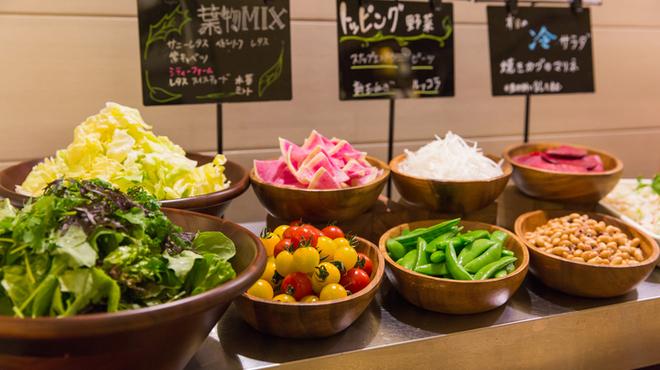 旬穀旬菜 - 料理写真:ランチ 野菜ビュッフェ