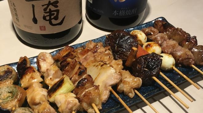 けんめり - 料理写真:串焼き盛合せ980円(盛合せ内容は、お任せ下さい)