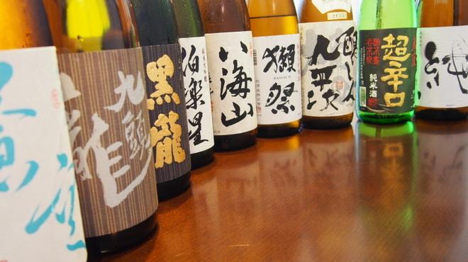 日本料理 ちくま庵 - ドリンク写真:日本酒・冷酒
