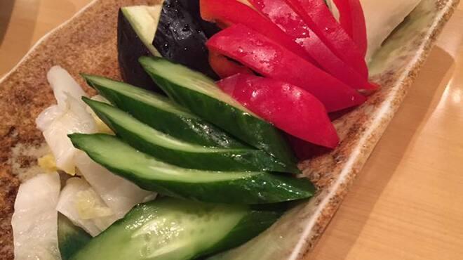 楷菜味 わたなべ - 料理写真:当店自慢の糠漬け盛り合わせ