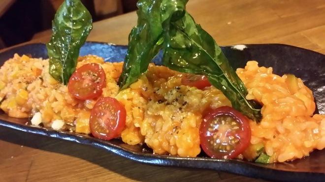 BISTRO にふぇー - 料理写真:トマトのリゾット