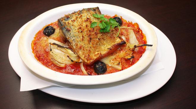 とろさば料理専門店 SABAR - 料理写真:【ボーノ!シチリアーノ!サバーノ!トマト煮ーノ!】
