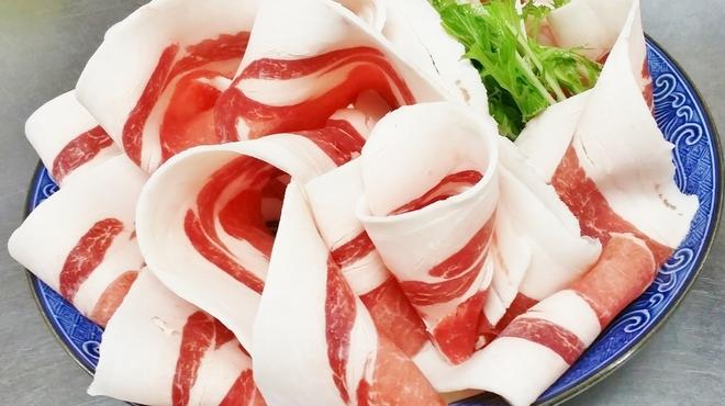 ぼたん鍋処 如月庵 - 料理写真:ロース肉ぼたん鍋2人前