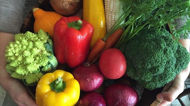 ル コンテ - 料理写真:那須高原から直送!フレッシュ野菜☆
