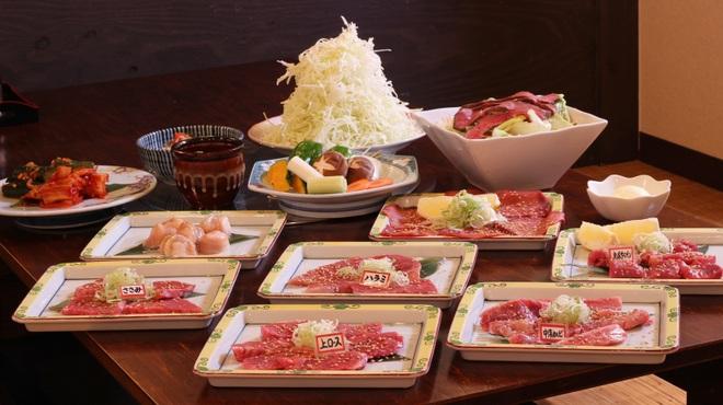 俺の焼肉 - 料理写真:5,000円ぽっきりおまかせコース