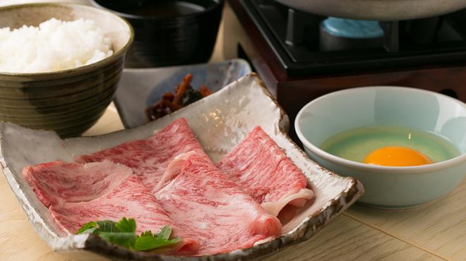 すき焼き 牛しゃぶ 松重 - メイン写真: