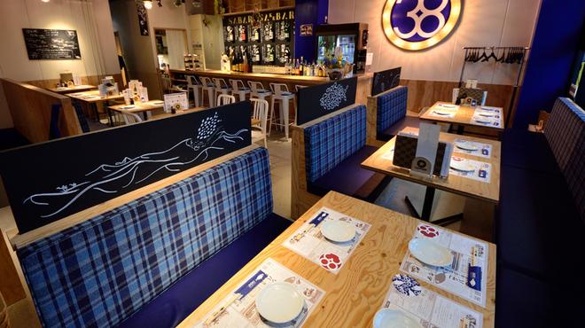 とろさば料理専門店 SABAR - 内観写真:お二階の貸切利用も可◎最大25名様までご着席いただけます!