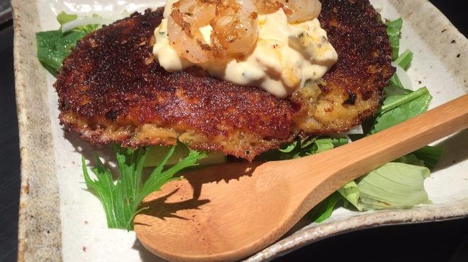 四ツ谷 つなぐ - 料理写真:焼きポテトサラダ