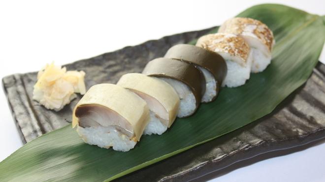 とろさば料理専門店 SABAR - 料理写真:銀座店限定*【大とろ鯖小袖棒寿司盛合せ】