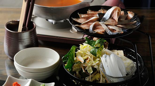 とろさば料理専門店 SABAR - 料理写真:限定*さばスープ鍋【とろさばしゃぶしゃぶ鍋】