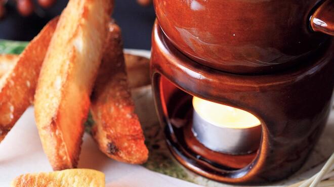 喜酒快膳 夢玄 - 料理写真:京生麩のかに味噌チーズフォンデュ