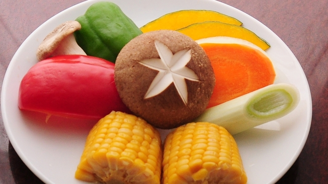 ヒジリ - 料理写真:焼き野菜盛り合わせ