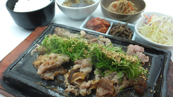 サムギョプサルと野菜 いふう - 料理写真:
