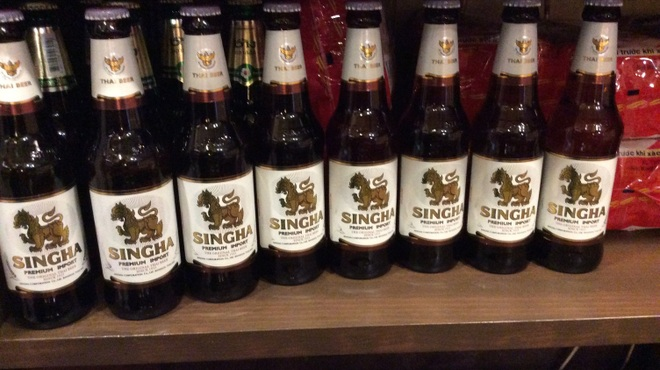 アジアン食堂グリドルズ - ドリンク写真:タイ王室認定の王道ビール