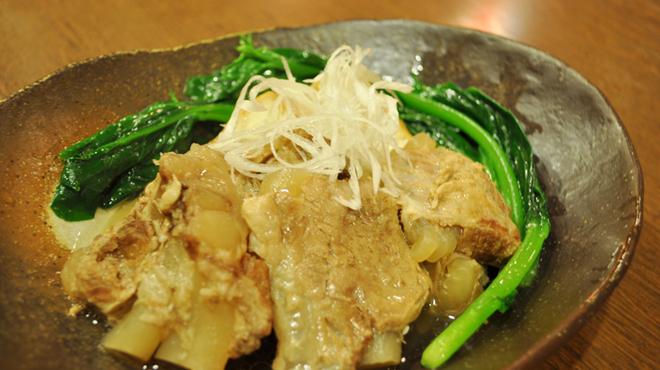 ちゃんぷるぅ家 - 料理写真:軟骨ソーキの塩煮付け