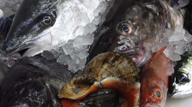 能登美 - 料理写真:何と言っても一番のウリは能登より朝捕れ空輸の超新鮮魚!!厳寒日本海で引き締まった魚は目が違いますッ