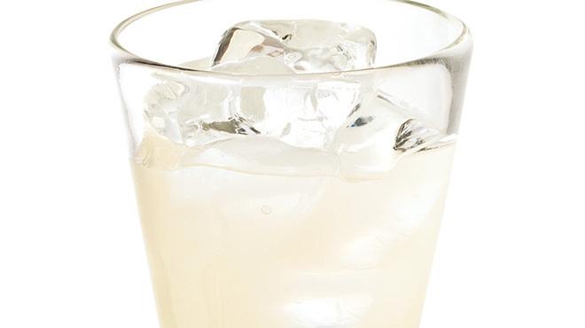 わたみん家 - ドリンク写真:ゆず酒グラス