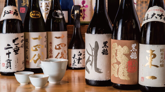 炭と地酒とたしなみワイン Kai本店 醸す - メイン写真: