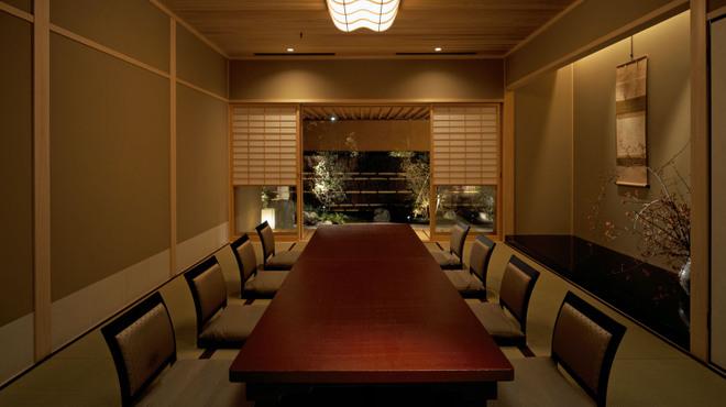 よし邑 - 内観写真:お茶室としても利用可能な雅な和室