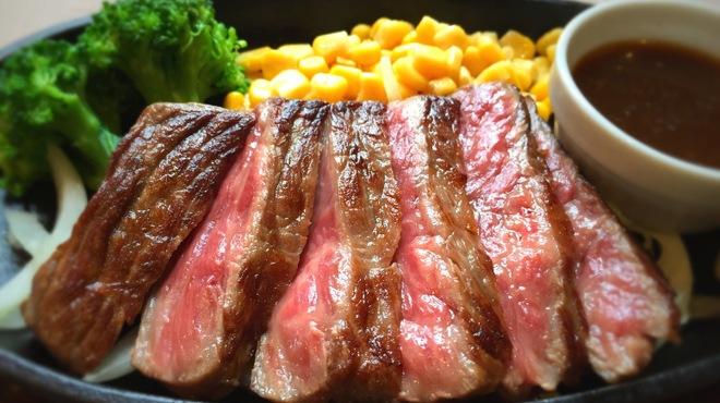 ラヴィータ - 料理写真:A4黒毛和牛ランプステーキ[ランチ]