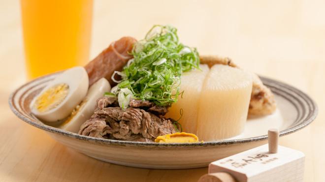 BEER PUB ICHI-YA - 料理写真:白味噌豆乳おでん