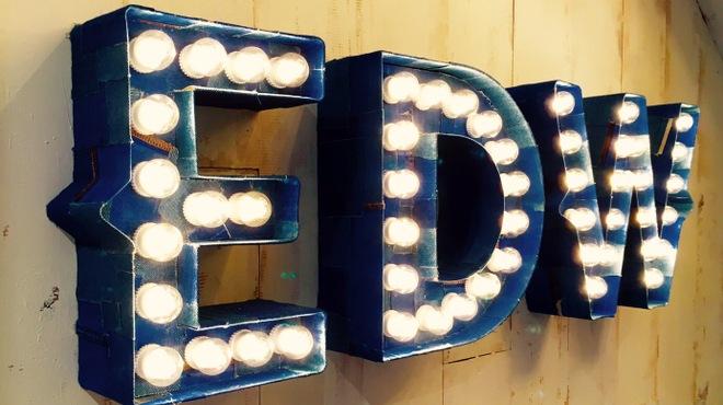 ESPRESSO D WORKS - 外観写真:EDWの電球が目印!