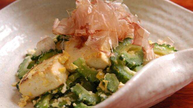 サザンウインドウ - 料理写真:沖縄料理の定番 ゴーヤチャンプル