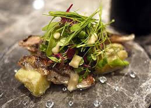 ル コントワ - 料理写真:秋刀魚