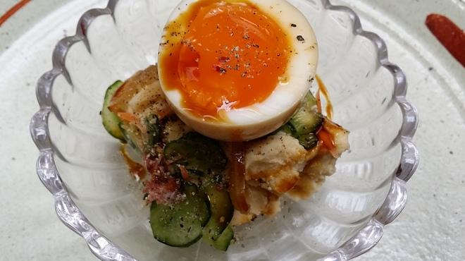 京ダイニング 上七軒 - 料理写真:人気の燻製ポテトサラダ