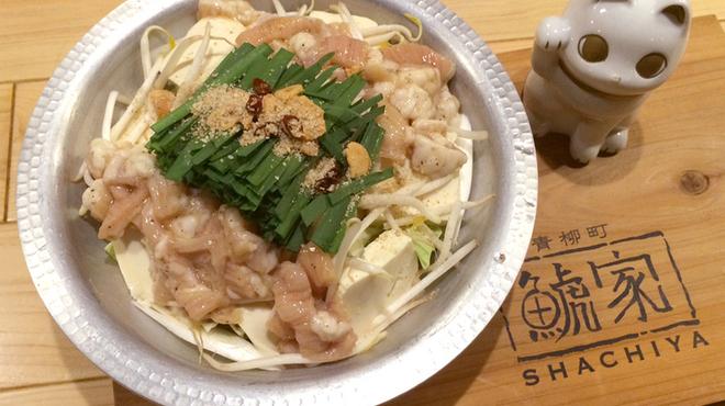 鯱家 - 料理写真:もつ鍋
