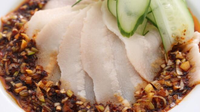 AJITO - 料理写真:山椒・八角・桂皮・唐辛子など使用した自家製の絶大な人気の四川だれ 他では絶対に味わえないウンパイロウ 580円