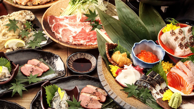 日本酒原価酒蔵 - 料理写真: