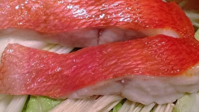 お魚 Dining わんだ - 料理写真:金目鯛のせいろ蒸し