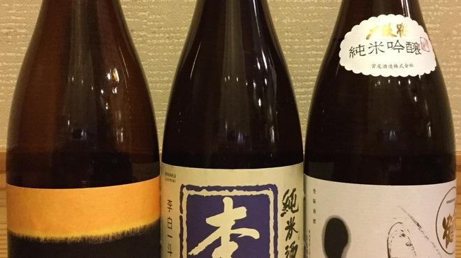 調布 清水 - ドリンク写真:定番日本酒