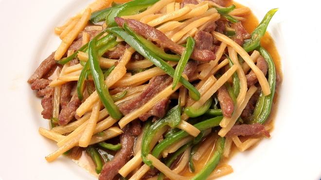 金葉 - 料理写真:青椒肉絲