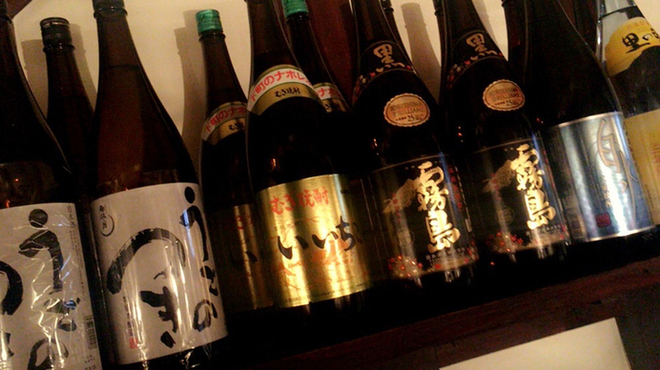居酒屋 五五五 - ドリンク写真:焼酎も種類豊富!!