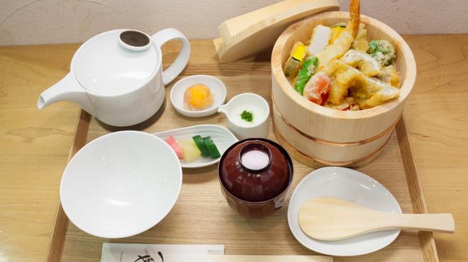 天丼つちや - 料理写真:ひつまぶしセット