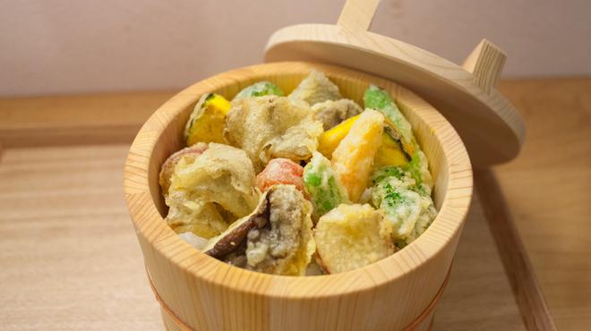 天丼つちや - 料理写真:野菜天丼