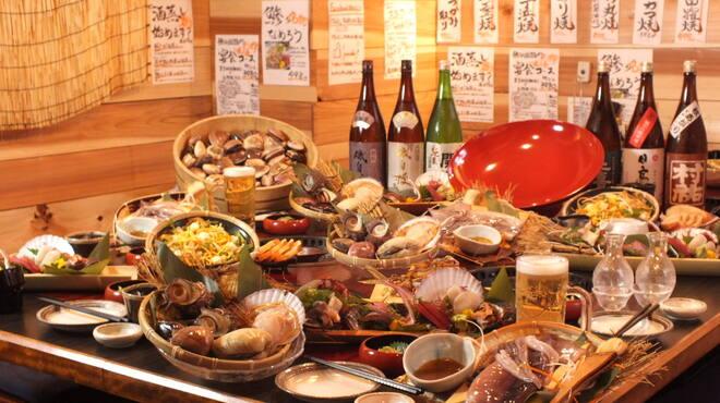 漁火 - 料理写真:宴会コース