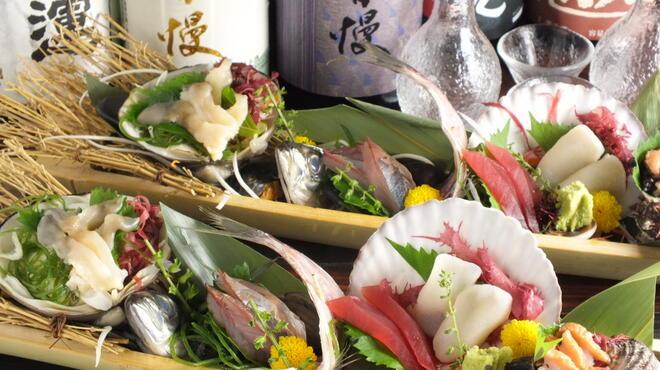 漁火 - 料理写真:お刺身盛合せ