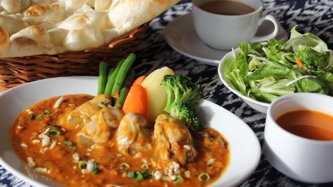 インドレストランゲイロード - 料理写真:牡蛎カレー