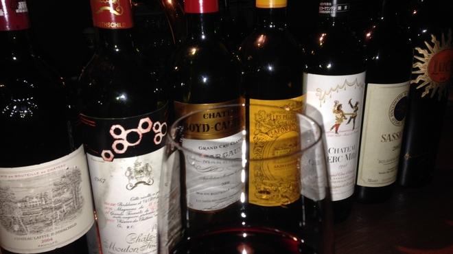 ビストロ グランビア - ドリンク写真:世界各地のワインを取り揃えております。