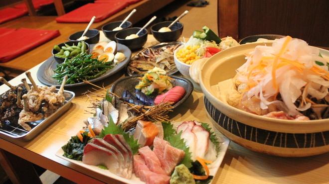 風み家 - 料理写真:4000円鍋コース(飲み放付き)