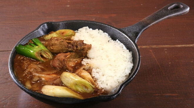 野菜を食べるカレーcamp - 料理写真:長ネギと玉ネギのカシミール風チキンカレー